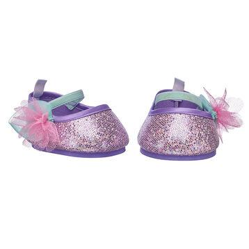 Purple Flower Flats, , hi-res