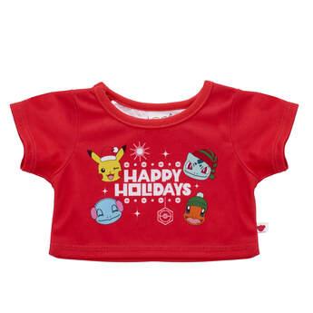 Pokémon Happy Holidays T-Shirt - Build-A-Bear Workshop®