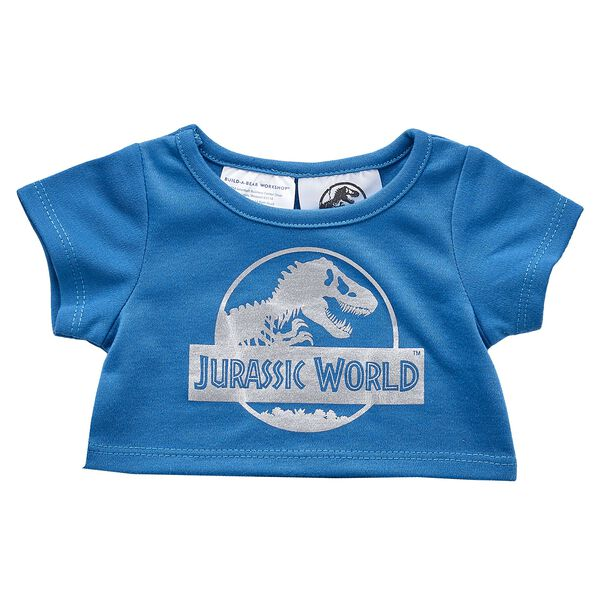 There may be nowhere to run in Jurassic Park, but at least your furry friend will look good in this blue Jurassic World tee for stuffed animals! Outfit a furry friend online to make the perfect gift. Free shipping on orders over $45. Shop online or visit a store near you!