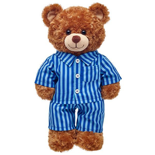 Blue Striped PJs 2 pc., , hi-res