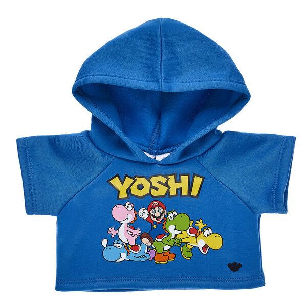 Blue Yoshi Hoodie, , hi-res