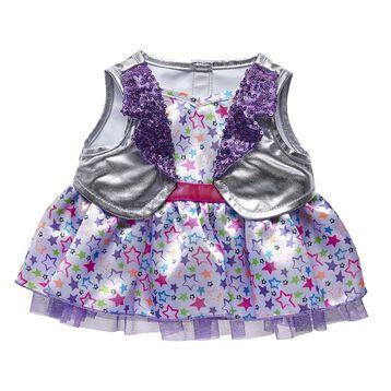 Honey Girls Neon Stars Dress, , hi-res
