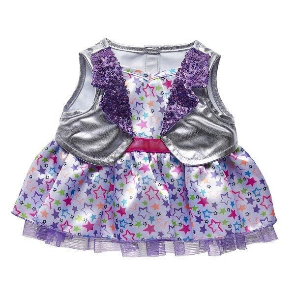 Honey Girls Neon Stars Dress, , hi-res