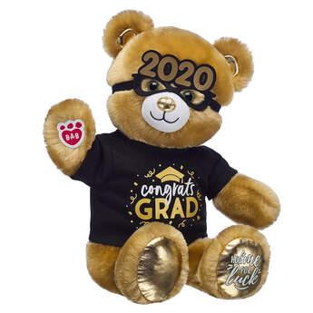 Online Exclusive Lucky Hugs Bear Graduation Gift Set, , hi-res