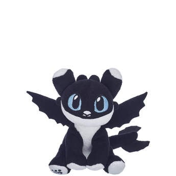 Black & White Nightlight with Blue Eyes - Build-A-Bear Workshop®