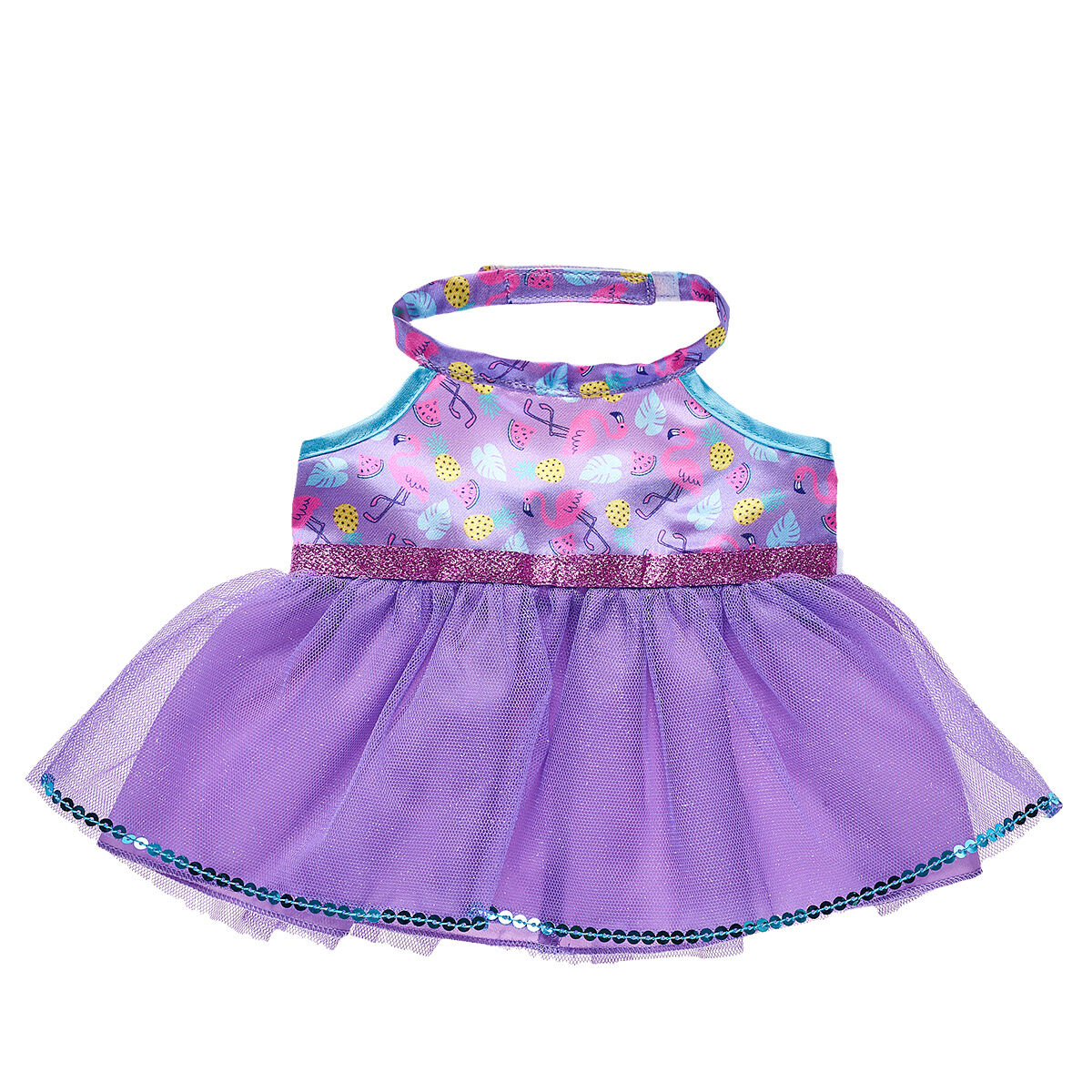 Build a Bear Purple Dress