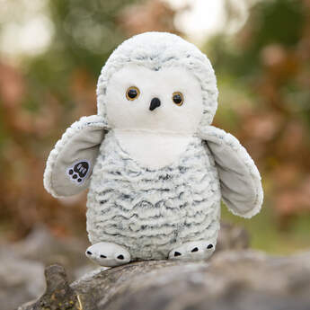 Online Exclusive Snow Owl - Build-A-Bear Workshop®
