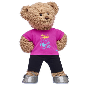Brown Teddy Bear with Mother's Day T-Shirt - Build-A-Bear Gift Set