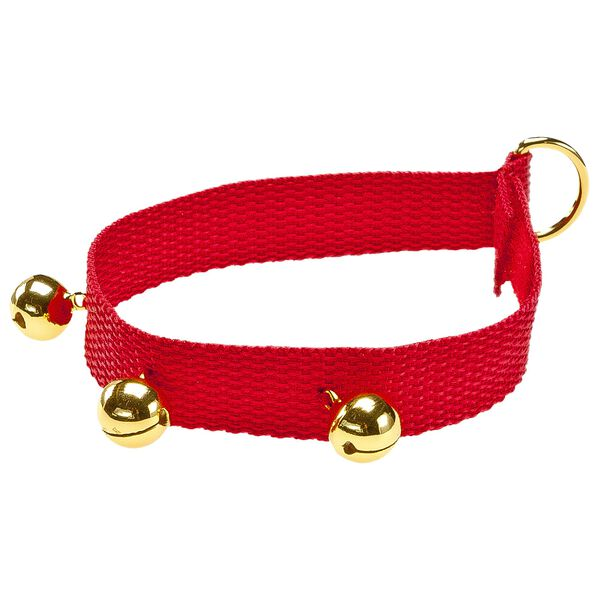 Red Bell Collar, , hi-res