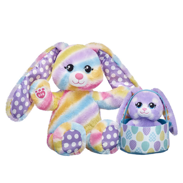 Spring Stripes Bunny Easter Gift Set, , hi-res