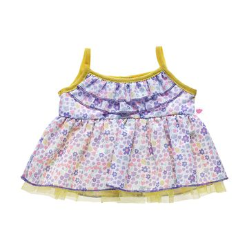 This stuffed animal floral dress is a fresh choice for spring! Build-A-Bear Workshop offers hundreds of unique stuffed animal clothing & accessory options you won't find anywhere else. Outfit a furry friend online to make the perfect gift!