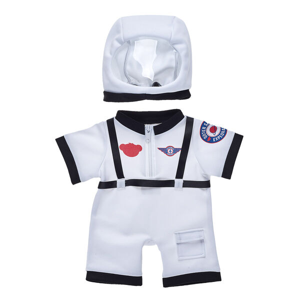 When it comes to having out-of-this-world fun, the sky's the limit with this furry friend astronaut outfit! Your furry friend can shoot for the stars with this cute online-only look.