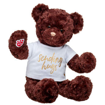 Online Exclusive Hugs and Wishes Bear Sending Hugs Gift Set, , hi-res