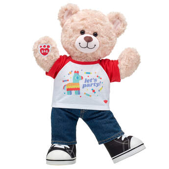 Online Exclusive Happy Hugs Teddy Piñata Gift Set, , hi-res