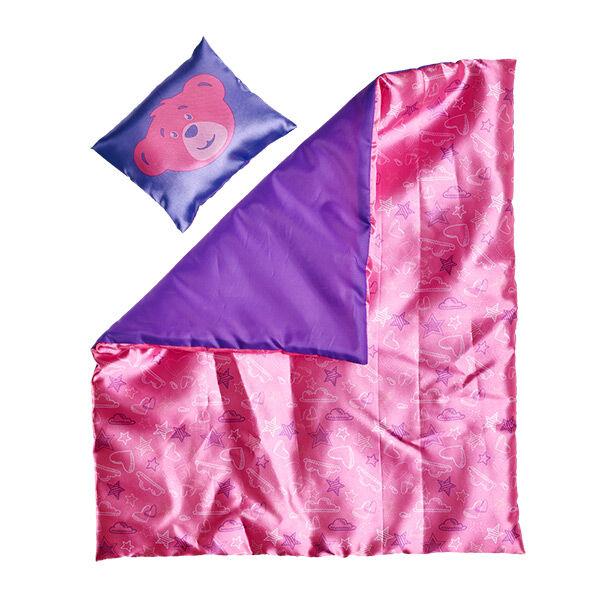 Pink Hearts & Stars Bedding 2 pc., , hi-res