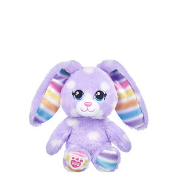 Build-A-Bear Buddies™ Purple Polka Dots Bunny - Build-A-Bear Workshop®