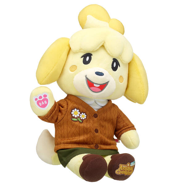 Animal Crossing™: New Horizons Isabelle - Winter - Build-A-Bear Workshop®
