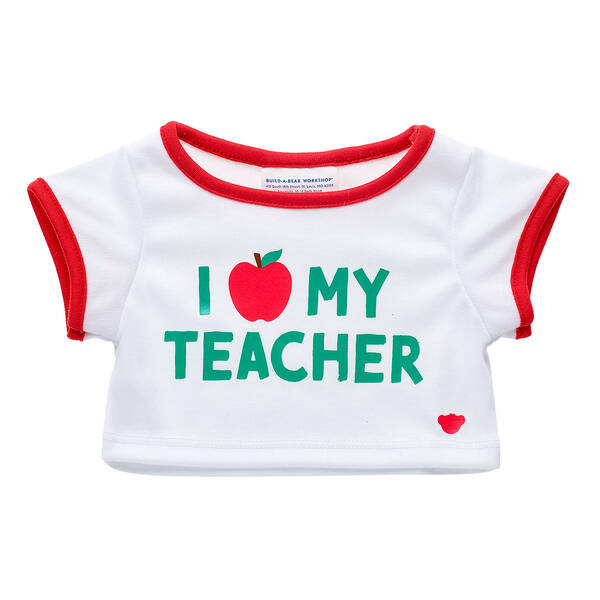 Online Exclusive I Love My Teacher T-Shirt - Build-A-Bear Workshop®