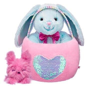 Sky Blue Pawlette™ & Pink Spring Fluffle Gift Set, , hi-res