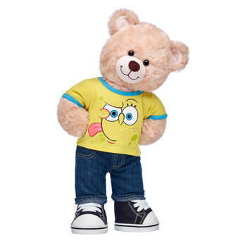 SpongeBob Teddy Bear Gift Set - Build-A-Bear Workshop®