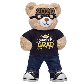 Cuddly Brown Bear Graduation Gift Set, , hi-res