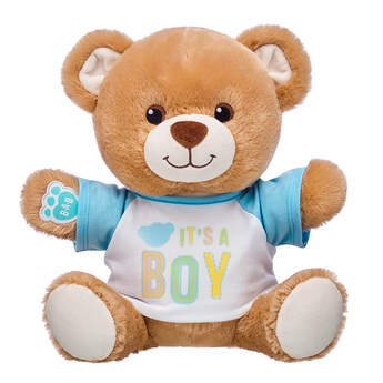 Online Exclusive Little Cub Hugs Teddy Boy Gift Set, , hi-res