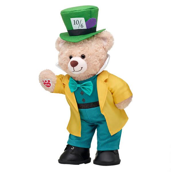Online Exclusive Happy Hugs Teddy Disney Mad Hatter Gift Set, , hi-res