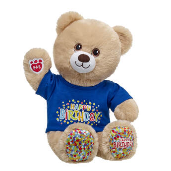 Birthday Treat Bear Blue Gift Set, , hi-res