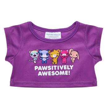 Kabu™ Purple T-Shirt - Build-A-Bear Workshop®