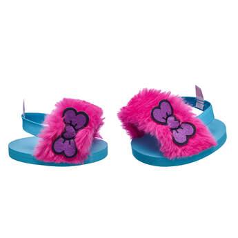 Kabu™ Fuzzy Sandals - Build-A-Bear Workshop®