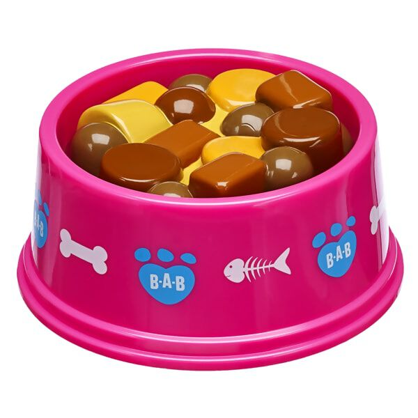 Promise Pets™ Pink Food & Water Bowl, , hi-res