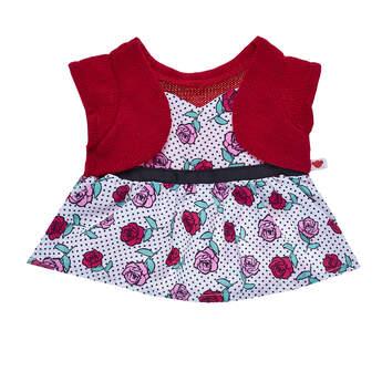 Valentine's Day Roses 2-Fer Dress - Build-A-Bear Workshop®