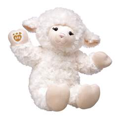 Soft and cuddly, Vanilla Swirls Lamb is as sweet as can be! This online exclusive furry friend features ultra soft white fur with cream coloured hands and feet. Dress Vanilla Swirls Lamb in a wide range of outfits and accessories and your furry friend is ready for some snuggles!