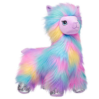 Furbulous Rainbow Llama - Build-A-Bear Workshop®