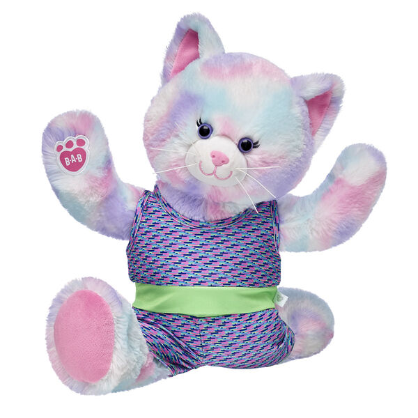 Pastel Swirl Kitty Athletic Gift Set, , hi-res