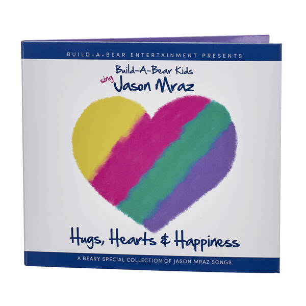 """Hugs, Hearts & Happiness"" CD Album by Build-A-Bear Kids - Build-A-Bear Workshop®"