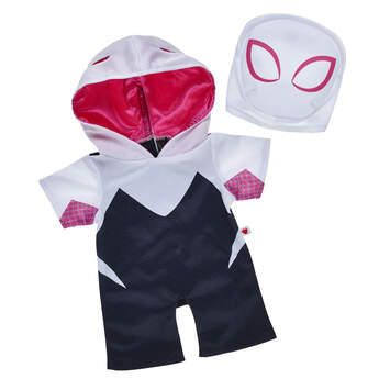 Spider-Gwen Costume 2 pc. - Build-A-Bear Workshop®