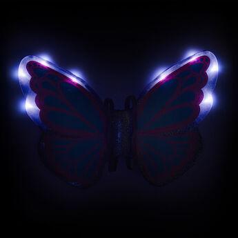 Purple Light-Up Fairy Wings, , hi-res