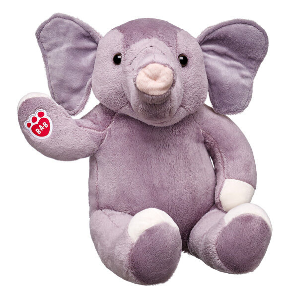 Take off on an adventure with this Asian Elephant Stuffed Animal! This gray furry friend is tons of fun. Add outfits and accessories to make this Asian Elephant Stuffed Animal a unique and perfect gift for any fan of wild animals.