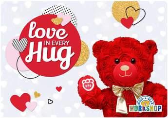 Love in Every Hug E-Gift Card - Build-A-Bear Workshop®