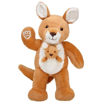 Online Exclusive Kangaroo and Joey - Build-A-Bear Workshop®