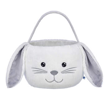 White Bunny Easter Basket - Build-A-Bear Workshop®