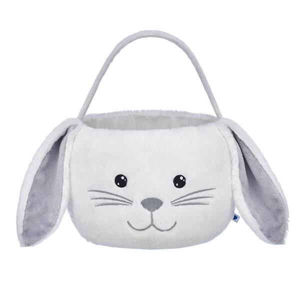 White Bunny Easter Basket - Build-A-Bear Workshop®