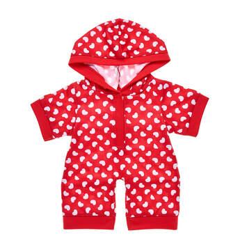 Red & White Hearts Sleeper - Build-A-Bear Workshop®
