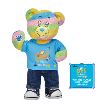 Online Exclusive Oh, the Places You'll Go! Bear Gift Set with Sound, , hi-res