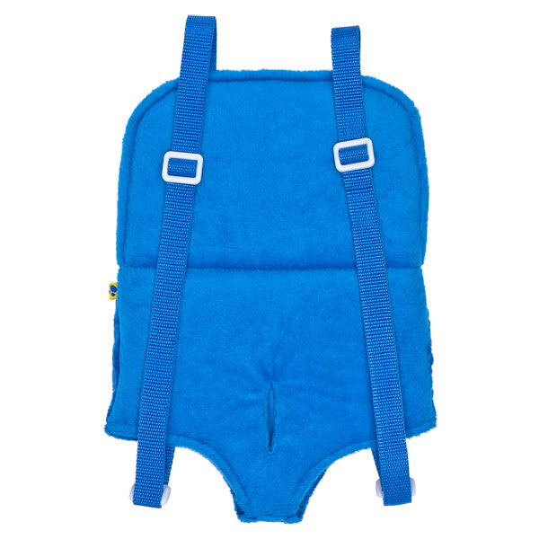 Blue Chenille Bear Carrier, , hi-res