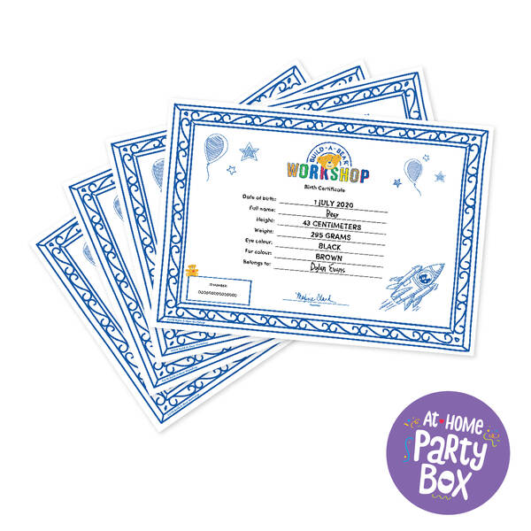 Sparkly Stars Party Box – 4 People, , hi-res
