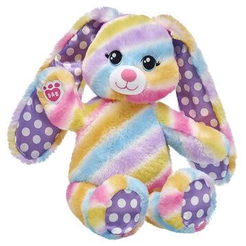 Spring Stripes Bunny, , hi-res