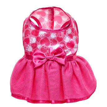 Promise Pets™ Pink Hearts Dress - Build-A-Bear Workshop®