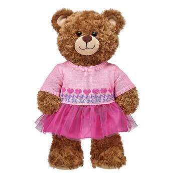 Pink Fair Isle Dress - Build-A-Bear Workshop®
